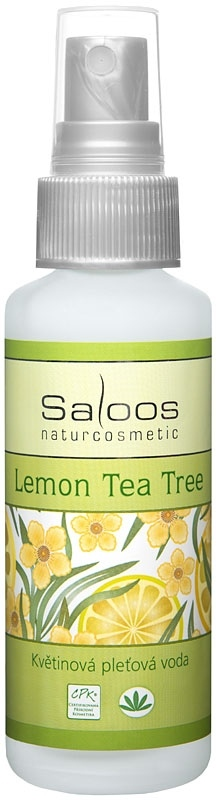 Saloos Lemon Tea Tree - květinová pleťová voda 50ml