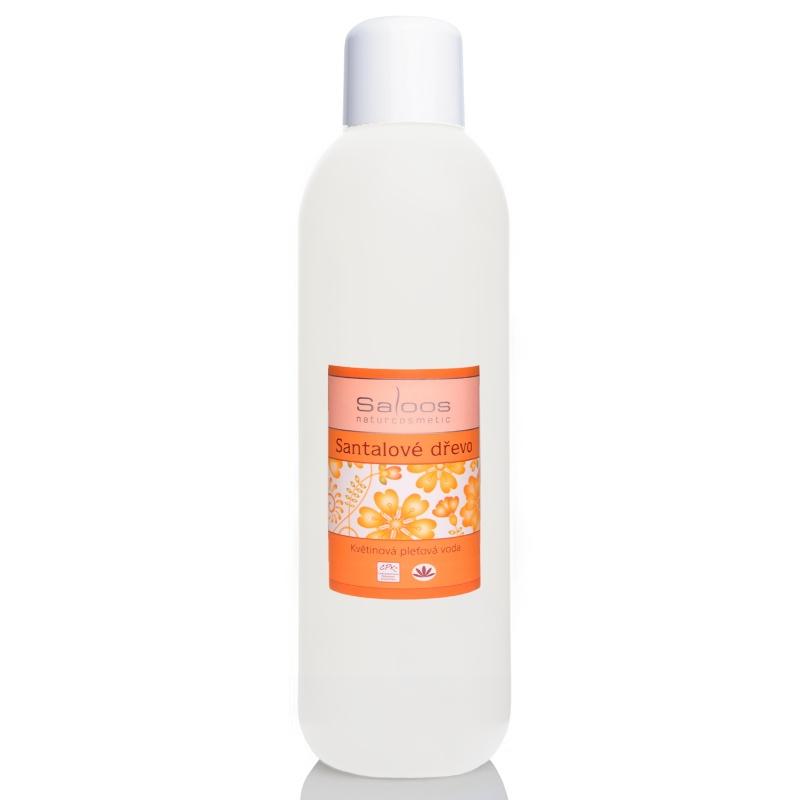Saloos Santalové dřevo - květinová pleťová voda Balení: 1000 ml