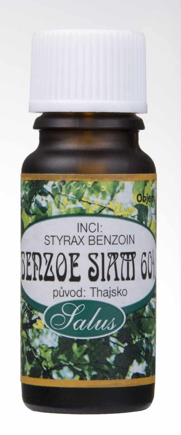 Saloos Benzoe Siam 60% - esenciální olej 10 ml