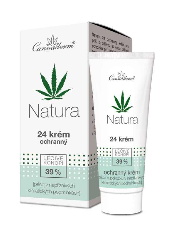Cannaderm Bio 24 ochranný krém Natura 50 g