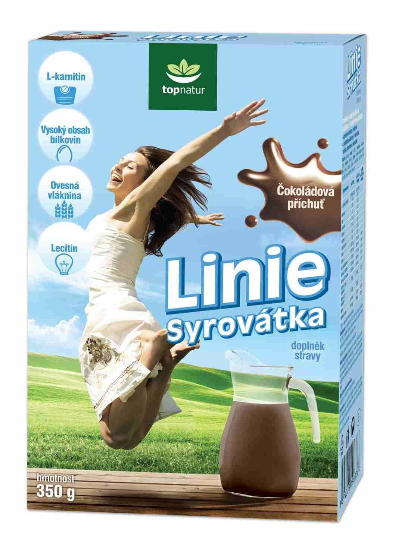 Topnatur Syrovátka sušená Linie Čokoláda 350 g