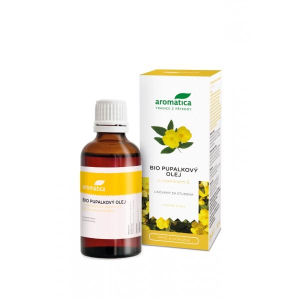 Aromatica Pupalkový olej s vitaminem E 50 ml