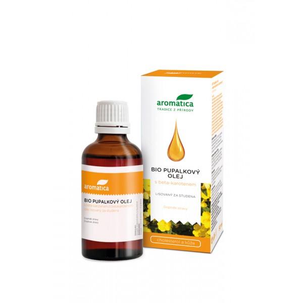 Aromatica Pupalkový olej s beta-karotenem a vitaminem E 50 ml