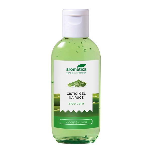 Aromatica Čistící gel na ruce Aloe Vera 75 ml