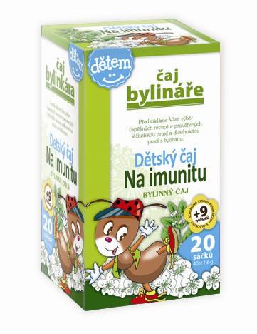 Čaj Bylináře Dětský čaj na imunitu 20 x 1.5 g