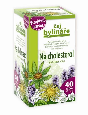 Čaj Bylináře Na cholesterol čaj 40 x 1.6 g