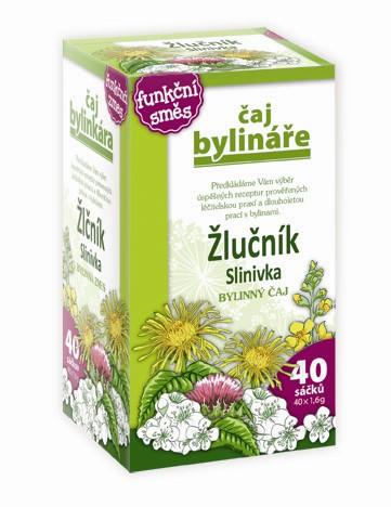 Čaj Bylináře Žlučník a slinivka čaj 40x1.6g