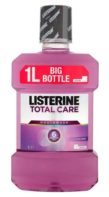 Listerine Ústní voda pro kompletní ochranu Total Care 1000 ml