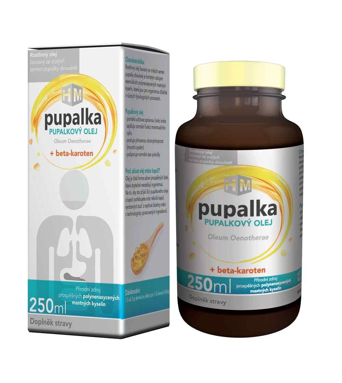 Simply You Pupalkový olej s beta-karotenem 250 ml