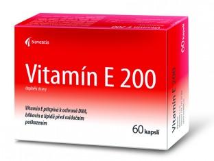 Noventis Vitamín E 200mg 60 kapslí Akční cena