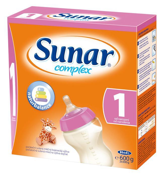 Hero Sunar complex 1 (sušené mléko) 600 g