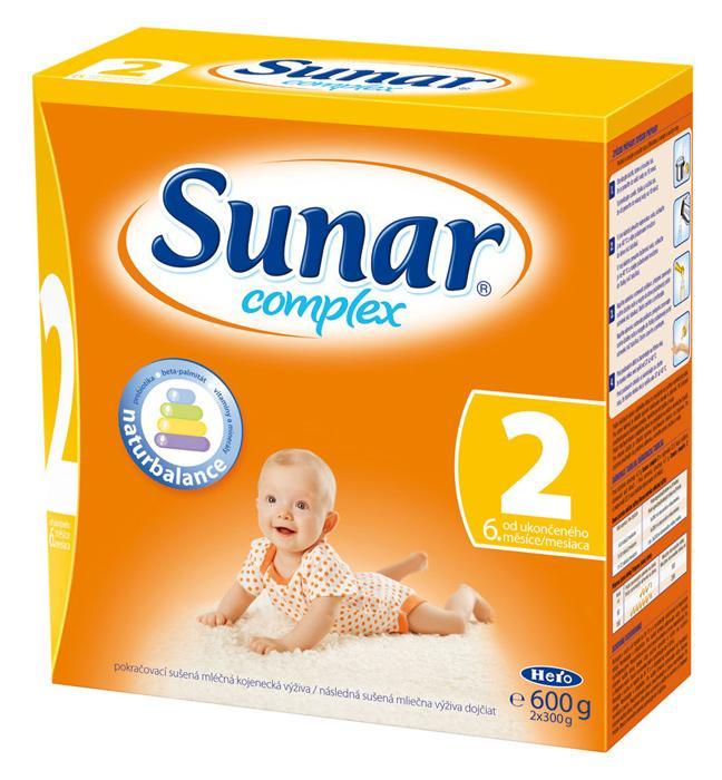 Hero Sunar complex 2 (sušené mléko) 600 g