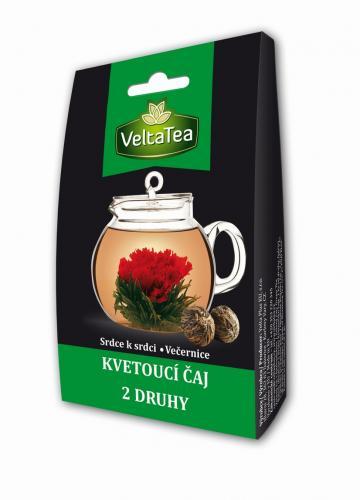 VeltaTea Kvetoucí čaj Duo - Srdce k srdci 1x6 g + Večernice 1x6 g