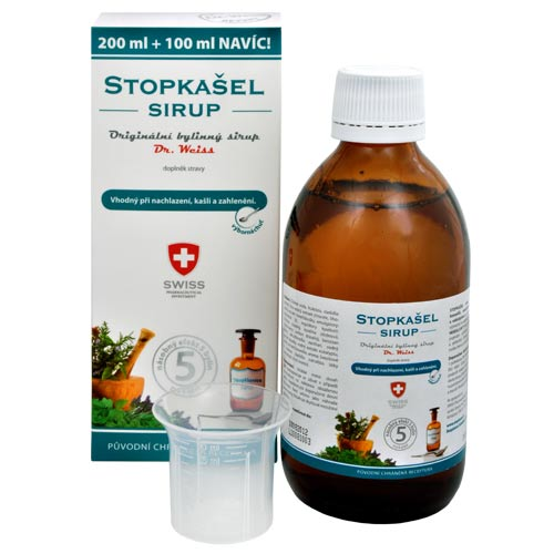 Simply You StopKašel sirup dr. Weiss pro děti 200 ml + 100 ml ZDARMA