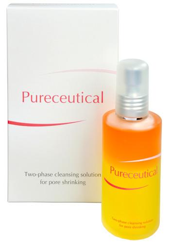 Herb Pharma Pureceutical - dvojfázový čisticí roztok na stahování pórů 125 ml