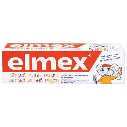 Elmex Dětská zubní pasta 0-6 let 50 ml