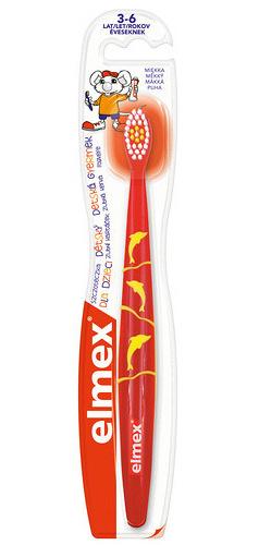 Elmex Zubní kartáček pro děti od 3-6 let