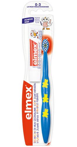 Elmex Cvičný zubní kartáček pro děti od 0-3 let