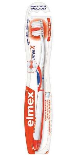 Elmex Zubní kartáček Caries Protection InterX Soft s krátkou hlavou