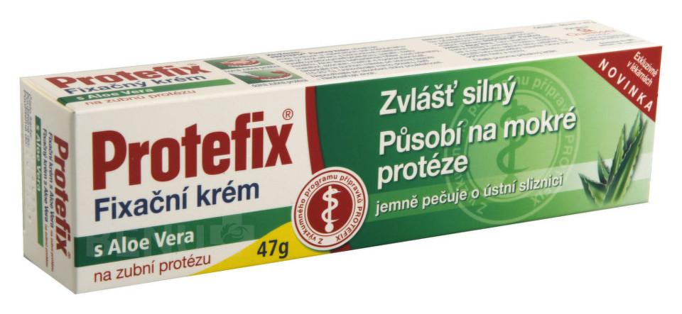 Queisser Pharma Protefix Fixační krém na zubní protézu s Aloe Vera 40ml