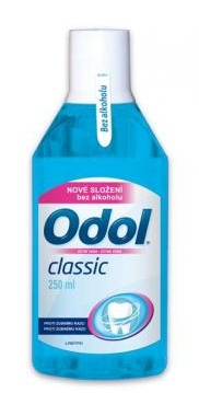 GlaxoSmithKline Odol Classic ústní voda bez alkoholu 250 ml