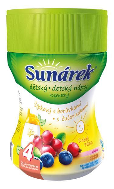 Hero Sunárek instantní nápoj Dobré ráno šípek dóza 200g