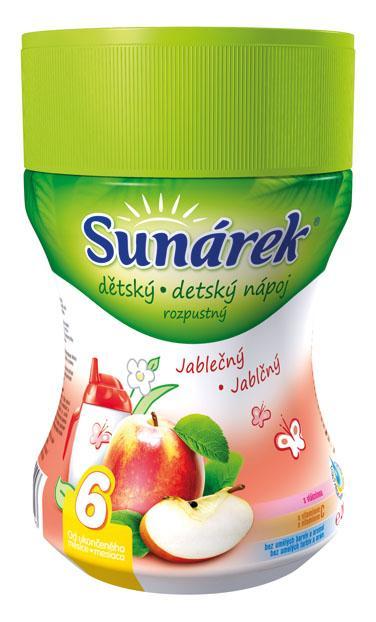 Hero Sunárek instantní nápoj jablko dóza 200g