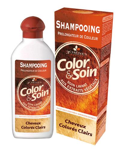 Les 3_chenes Barva a Péče Šampón - Světle barvené vlasy 250ml