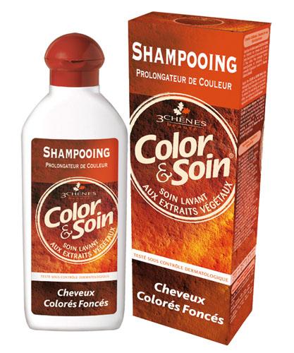 Les 3_chenes Barva a Péče Šampón - Tmavě barvené vlasy 250ml
