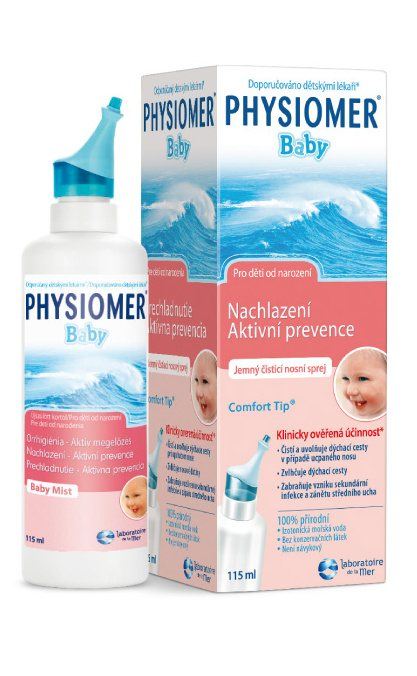 Physiomer Baby jemný 115 ml