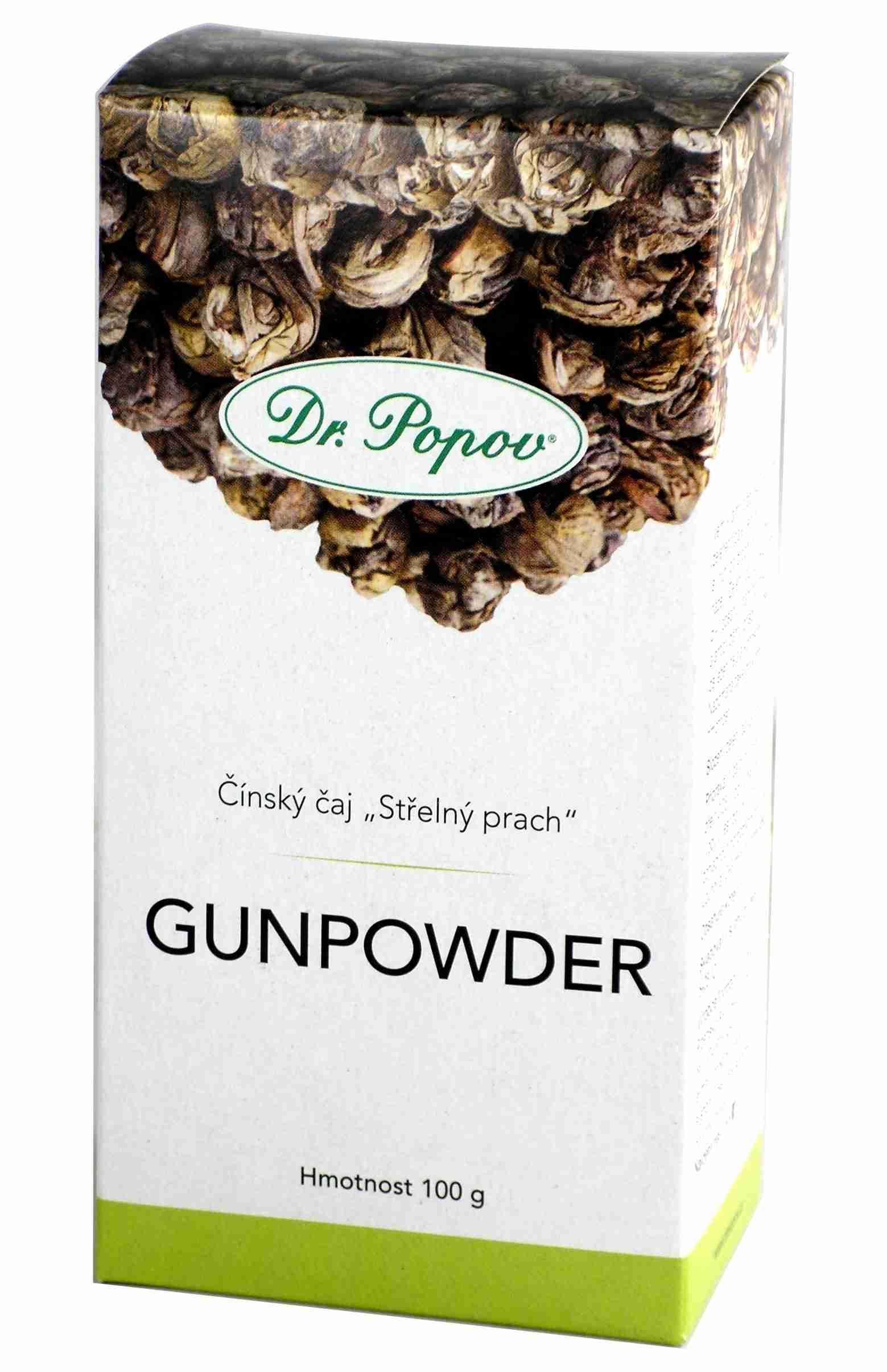 Dr. Popov Čaj Gunpowder sypaný 100 g