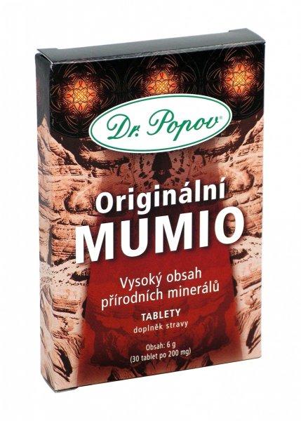 Dr. Popov Mumio 30 tbl.