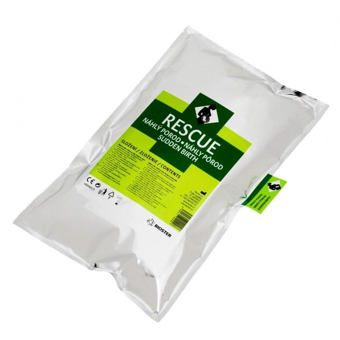 Bioster RESCUE - balíček první pomoci při náhlém porodu