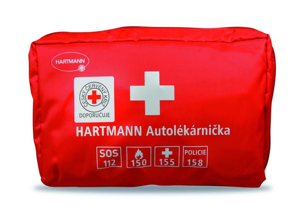 Hartmann Autolékárnička červená