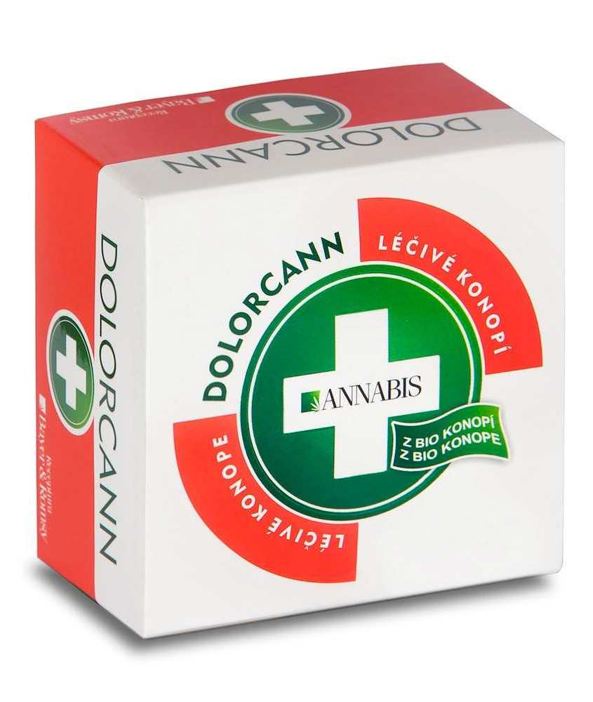 Annabis Dolorcann - konopná mast na svaly, klouby, šlachy 15 ml