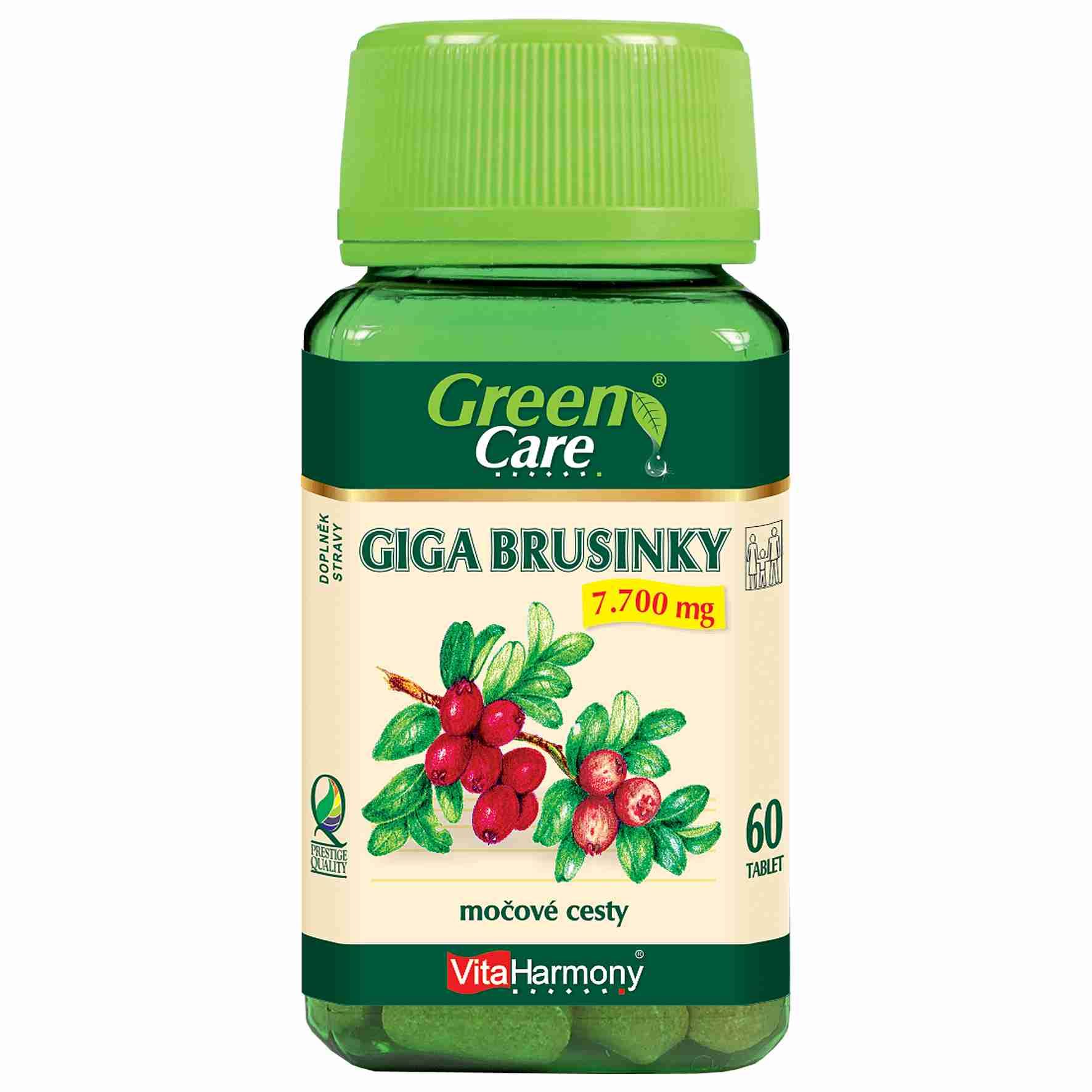 VitaHarmony Giga Brusinky 7.700 mg 60 tbl.