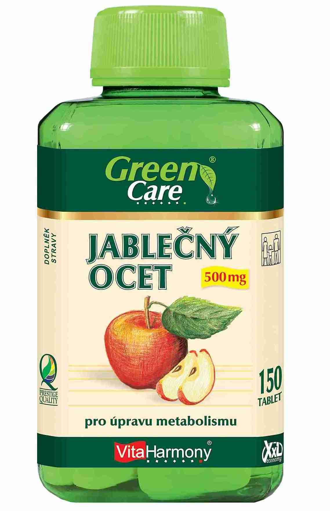 VitaHarmony Jablečný ocet 500 mg 150 tbl.