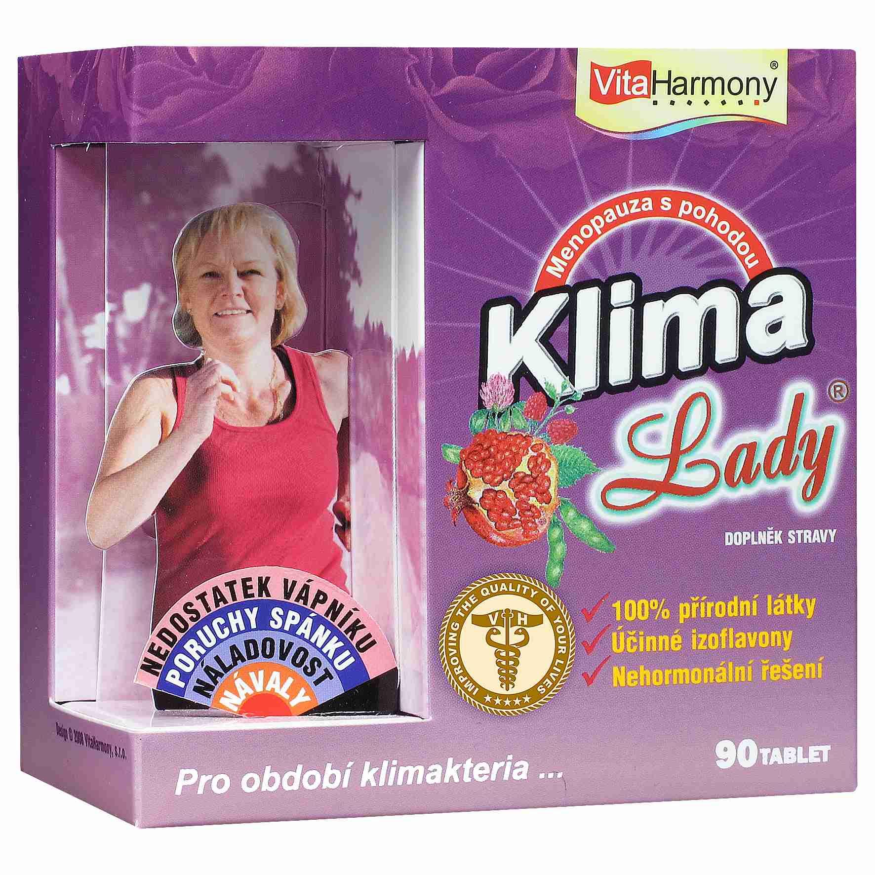 VitaHarmony KlimaLady pro období klimakteria 90 tbl.