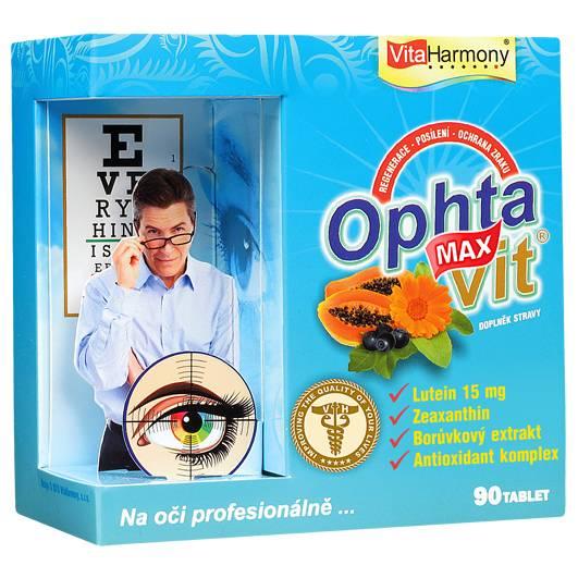 VitaHarmony Ophtavit MAX 90 tbl.