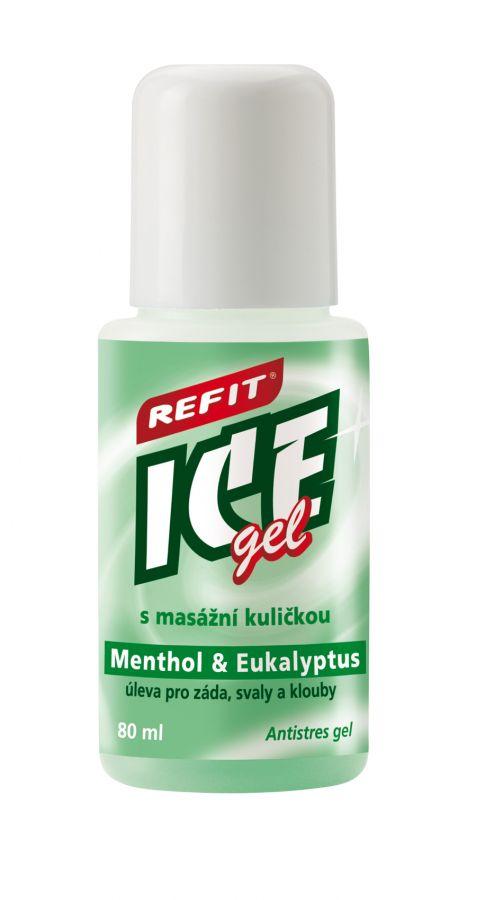 Edwin Ozimek, s.r.o. REFIT ICE GEL roll-on Eukalypt na krční páteř 80ml