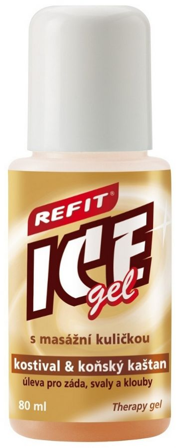Edwin Ozimek REFIT ICE GEL roll-on s kostivalem 80ml