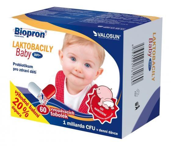 Valosun Biopron Laktobacily Baby BiFi+ 60 tob.
