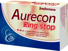 Herb Pharma Aurecon Ring stop 30 kapslí