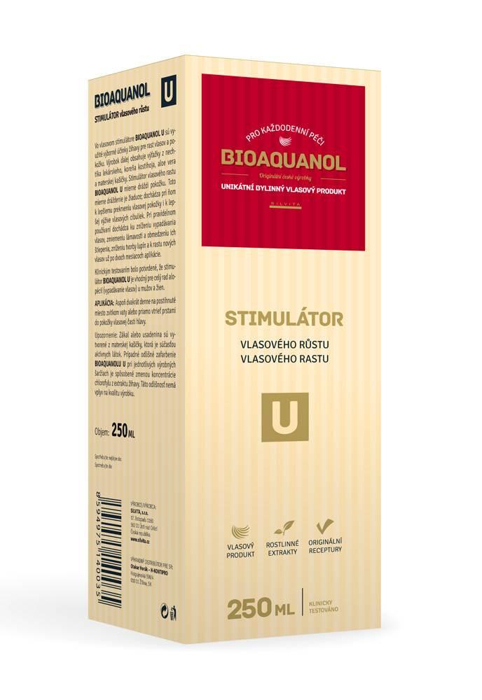 Silvita Bioaquanol U stimulátor vlasového růstu 250 ml