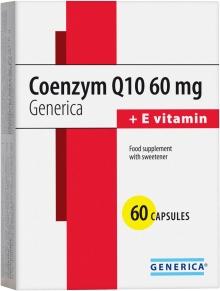 Generica Coenzym Q10 60 mg + vitamin E 60 kapslí