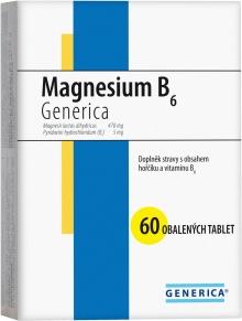 Generica Magnesium B6 60 tbl.