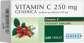 Generica Vitamin C 250 mg 120 tbl.