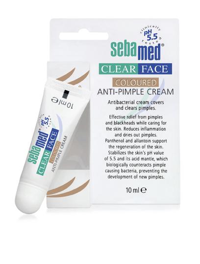 Sebamed Clear face tónovací krém na akné 10ml