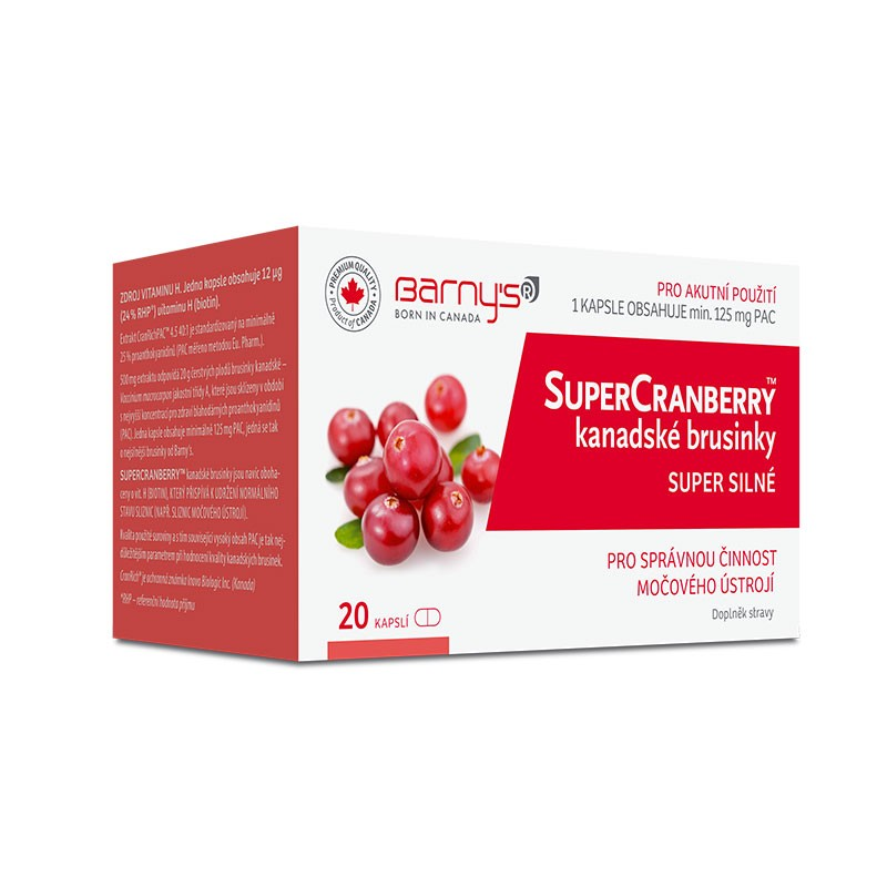 Barny´s SuperCranberry 20 kapslí