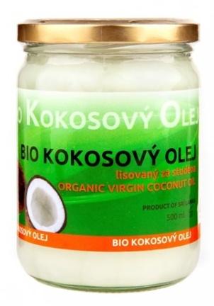 De Wolf Bio kokosový olej lisovaný za studena 500 ml